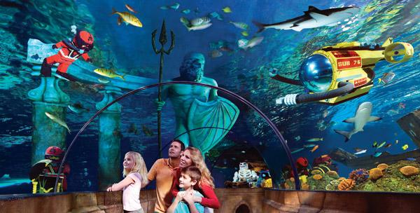 Get Away Today Sea Life Aquarium At Legoland Opens Today